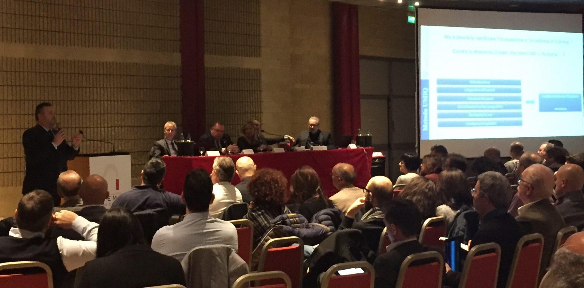 Davide Baroncini membro fondatore del board UMIQ