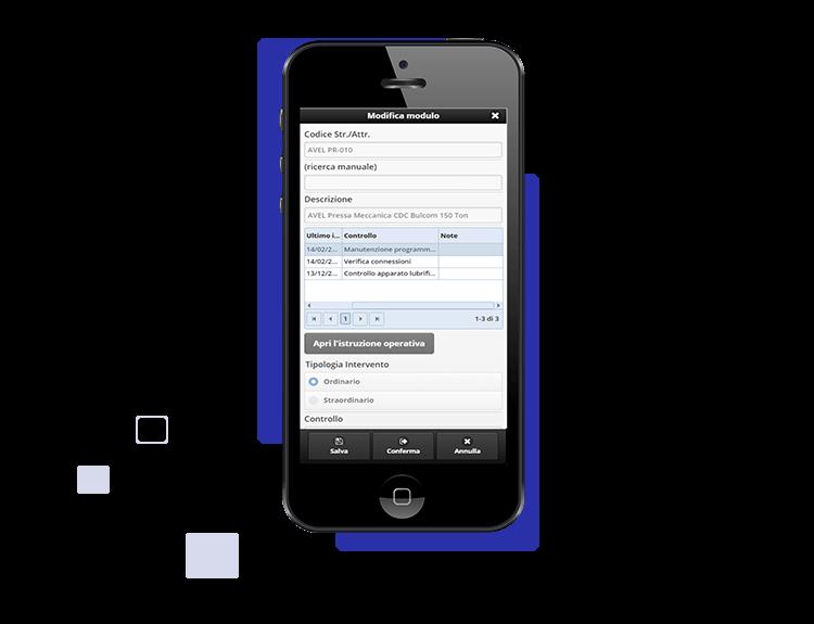 Controllo strumenti da mobile