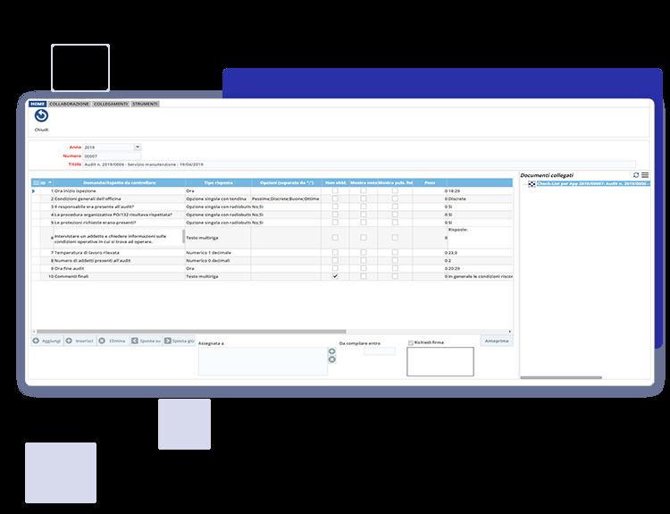 Creazione check list personalizzate